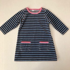 Mini Boden velour dress